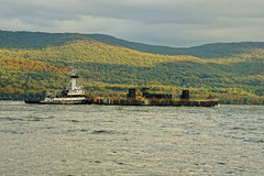 Tugboat Coral Coast (thetrick113) Tags: coralcoast tugboatcoralcoast river tugboat hudsonriver autumnsenescence autumn autumnleaves autumncolor fall2017 2017 fall vessel workingvessel sonyslta65v hudsonvalley hdr hudsonrivertugboat hudsonrivervalley hudsonhighlands newburghnewyork dutchesscountynewyork dannmarinetowing barge cementbarge