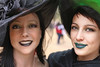 Smiling Witches (wyojones) Tags: texas texasrenaissancefestival toddmission texasrenfest renfest renfaire renaissancefaire faire renaissancefestival festival trf halloween scary allhallowseve witches woman girl maiden smiles blacklips greenlips hats witchshat witch beautiful beauty pretty cute lovely greeneyes hazeleyes brunettes
