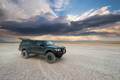 Camped on the Playa (Andrew Kumler) Tags: alvord playa oregon toyota tacoma