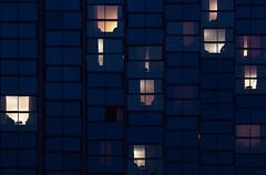 La vida y tal (Jaime A Ballestero) Tags: jaimea hotel denia noche ventanas azul hora contraluz vida