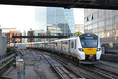 Thameslink 700021 (Will Swain) Tags: blackfriars station 27th july 2017 greater london capital city south east train trains rail railway railways transport travel uk britain vehicle vehicles country england english class thameslink 700021 700 021 21