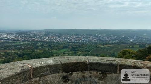 Auf dem Bismarckturm Ingelheim