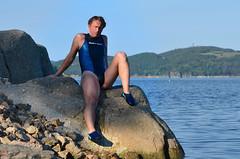Neoprenové plavky Cressi (Merman latex) Tags: plavky jednodílné onepiece swimsuit swimwear einteiligen badeanzug badeanzüge maillots de bain neoprene neopren rubber fetish
