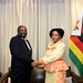 Minister Maite Nkoana-Mashabane meets with her counterpart, Minister Simbarashe Mumbengegwi for the South Africa-Zimbabwe Bi-National Commission