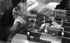 """""""Du Vol D'Un Papillon.. De La Fusion des Æléments"""" (The Blue Water Lily's Company) Tags: fdrouet nb bw monochrome monochrom enfant child reflet reflection kodak nikon fille fillette girl"""