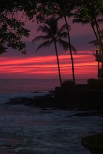 Birthday sunset