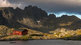 'A Mountain Morning' - Munkebu, Lofoten