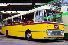 Venture Transport (249) (Fraser Murdoch) Tags: glasgow vintage vehicle trust gvvt open day weekend bridgeton scotland bus coach garage depot transport classic heritage modern canon eos 650d fraser murdoch photography leyland leopard venture 6249up 6249 up 249