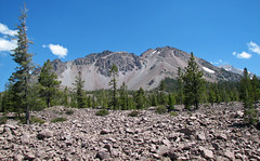 Chaos Crags volcanic domes & Chaos Jumbles Landslide (Holocene; Lassen Volcano National Park, California, USA) 9 (James St. John) Tags: dome c chaos crags volcanic domes rhyodacite holocene lassen volcano national park california cascade range lava jumbles landslide avalanche deposit dwarf forest