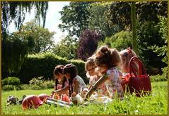 Romantische Stunden im Park ... (Kindergartenkinder) Tags: grugapark essen gruga kindergartenkinder annette himstedt dolls bellis jinka kindra margie setina