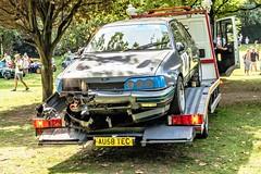 (4) Damage Ford Sierra XR 4X4 returning to Paddock (John Tif) Tags: 2017 crystalpalace fordsierraxr4x4 car motorspot