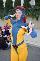 DSC_0968 (Randsom) Tags: newyorkcomiccon 2017 october7 nycc comic convention costume nyc javitscenter marvel superhero marveluniverse xmen hero mutant jeangray marvelgirl spandex cosplay redhead redlips