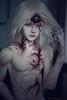 Nitha (Dikadoll Qiong Lou modded) (Kari Dream) Tags: bjd dikadoll qionglou styleb modification 3rdeye scars dollmorehands