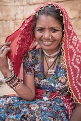 Rajasthan - Jaisalmer - Jewellry seller-5