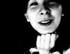 Le sourire caché (www.danbouteiller.com) Tags: france japanese japonais japonaise asian asiatique asianethnicity ethnicity model modèle portrait portraiture face visage smile sourire hand main mono monochrome monochromatic black white noir blanc nb bw noiretblanc noirblanc filmnoir blackandwhite blackwhite blacknwhite ricoh ricohgr ricohgr2 ricohgrii gr gr2 grii 28 28mm contrast contraste compact composition provoke