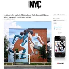 Seth Globepainter in Montreal (LoisInWonderland) Tags: sethglobepainter streetart muralart publicart urbanart mu montreal canada montrealstreetart