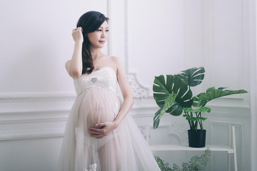 [台南孕婦寫真]清新自然孕媽咪