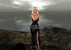 """Black Magic Woman""  - Temptress Gown By: Tameless @ TWE12VE Event Oct round (SherriOhCherri) Tags: tameless foxy it zibska salem phedora fiftylindenfriday twe12ve ebp halloween"