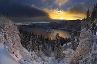 Snowshoe Sunrise