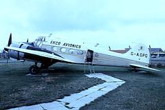 G-AGPG   Avro Anson C.19/2 [1212] (Ekco Avionics/Historic Aircraft Museum) Southend~G 03/07/1974 (raybarber2) Tags: 1212 airportdata approachtodo cn1212 egmc flickr gagpg preserved proptransport slide ukcivil