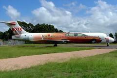 VH-YQJ   Boeing 717-231 [55096] (Jetstar Airways) Newcastle-RAAF Williamtown~VH 26/03/2007 (raybarber2) Tags: 55096 airliner airportdata approachtodo australiancivil cn55096 flickr vhyqj ywlm