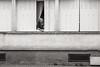 Human habitats (x1klima) Tags: puisserguier occitanie frankreich fr sonya7r ilce7r sony sonyfe85mmf14gm sel85f14gm monochrome schwarzweis noiretblanc bw plain blackandwhite woman women frau frauen femmes mature human habitats portrait streetphotography streets streetview candid urbanity urban emptiness einsamkeit pain schmerz leid qual qualen mühe aching ache grief trauer kummer gram hurt chastity achitectural architecture architektur building buildings