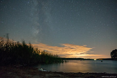 After season (Piotr Potepa) Tags: night nightscapes sky landscape stars lake poland sony piotr potepa water