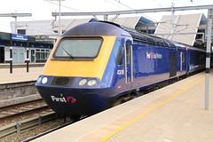 43018 Reading 20/10/2017 (Martin Coles) Tags: trains train rail railways railway reading gwr firstgreatwestern 43018 hst class43