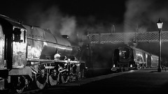 MRC2017-79 (Dreaming of Steam) Tags: 6233 46203 46233 duchess duchessofsutherland heritage heritagerailways lms midlandrailwaycentre princesscoronation princesscoronationclass princessmargaretrose princessroyalclass railway stainer steam steamengine sutherland train vintage engine locomotive railroad smoke steamlocomotive