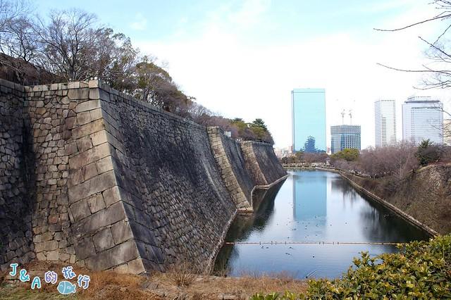 【日本大阪旅遊景點】大阪城天守閣-在8樓展望台欣賞大阪城公園景色與大阪街景,周遊卡免費景點推薦 @J&A的旅行