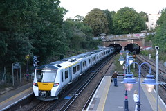 Thameslink 700022 (Will Swain) Tags: 10th august 2017 denmark hill station class greater london capital city south east train trains rail railway railways transport travel uk britain vehicle vehicles country england english thameslink 700022 700 022 22