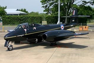 WA638 Meteor Martin Baker RAF Northolt 11.06.06