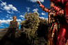 Afghanistan; Pamir (silvia.alessi) Tags: viaggio people red adventure mountain light pamir afghanistan asia ngc children kyrgyz travel