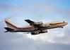 N707XX Boeing 707-138B TAG Aviation (Keith B Pics) Tags: n707xx n707jt vhebm n108bn egss stn stansted tagaviation keithbpics 707 b707138 boeing707 johntravolta qantas