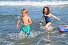 Everett And Carolina In The Ocean (Joe Shlabotnik) Tags: july2017 higginsbeach boogieboard 2017 maine carolina everett ocean beach afsdxvrnikkor55300mm4556ged
