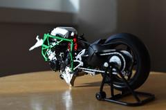 Tamiya Kawasaki H2R - Sept 2017 - Oct 2017 (richietee91) Tags: kawasaki h2 h2r tamiya motorcycle motorcycles model modelmaking modelling scale scalemodel