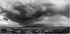 Grand Teton Desert Storm  B&W (cmneuf) Tags: clouds storm rain desert grandtetons wyoming jacksonhole yellowstone