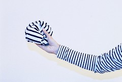 Stripes influence (marcus.greco) Tags: stripes portratit selfportrait man black white conceptual surreal