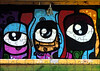 The Wrong Piece (Steve Taylor (Photography)) Tags: eye cartoon lamp light art graffiti mural streetart colourful vivid uk england london outline puzzle