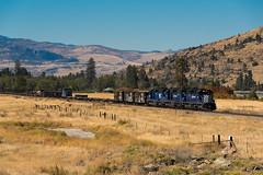 MRL 255 (shawn_christie1970) Tags: dixon montana unitedstates us flatheadriver jimbo railtrain emd sd402 mrl255 montanaraillink mrl259 mrl257