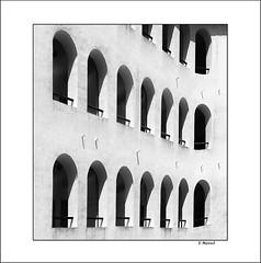 Mediodia / Windows & Shadows (tmuriel67) Tags: shadows lines lineas sombras blackwhite bw blancoynegro monochrome minimalism abstract architecture
