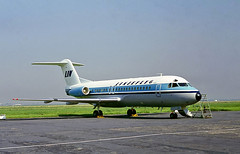 SE-DGL   Fokker F-28-4000 Fellowship [11126] (Linjeflyg) Amsterdam-Schiphol~PH 30/08/1977 (raybarber2) Tags: 11126 airliner alpechacollection approach cn11126 cancelled eham flickr sedgl slide swedishcivil
