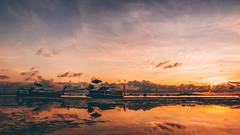 Thai Skies! (scotty-70) Tags: longboat sunrise boat cloud water seascape lumix lx100 thailand