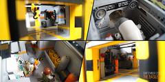 SHIPtember 2017: The Basilisk > Rooms (Brixnspace) Tags: ship shiptember spaceship space lego interior