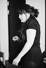 Preparations (Linus Wärn) Tags: bw blackandwhite woman singer backstage behindthescenes wetlandband dressingroom