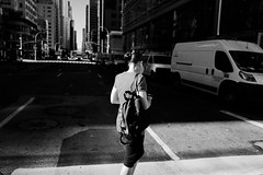 Saturday Morning, Manhattan, September 2017 (corebasis) Tags: newyorkcity manhattan leicaq