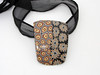 polymer clay necklace from susan. polymer (filigran-design und polymerdesign) Tags: polymerclay fimo premo arcilla filigrandesign handgefertigteperlenausderperledesvogtlandesvonfiligrandesignpolymerclayperlen halskette necklace schmuck statment black