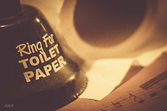 My music will tell you ... (babs van beieren) Tags: macromonday memberschoice musicalinstruments bell paper words text music notes 7dwf mondayfreetheme
