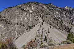 Seton lake slopes (D70) Tags: seton lake slopes gravel slides indian reserve 5 british columbia canada