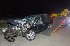 17102017-4946 (Sander Smit / Smit Fotografie) Tags: verkeersongeluk ongeluk krewerd holwierde holwierderweg auto boom frontaal hulpdiensten